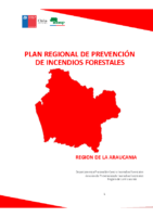 Araucanía Plan Regional de Prevención de Incendios Forestales