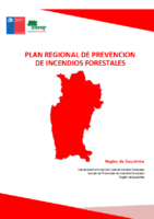 Coquimbo Plan Regional de Prevención de Incendios Forestales
