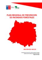 Maule Plan Regional de Prevención de Incendios Forestales