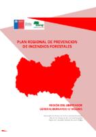 OHiggins Plan Regional de Prevención de Incendios Forestales