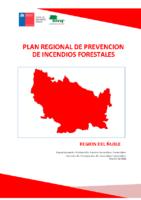 Ñuble Plan Regional de Prevención de Incendios Forestales